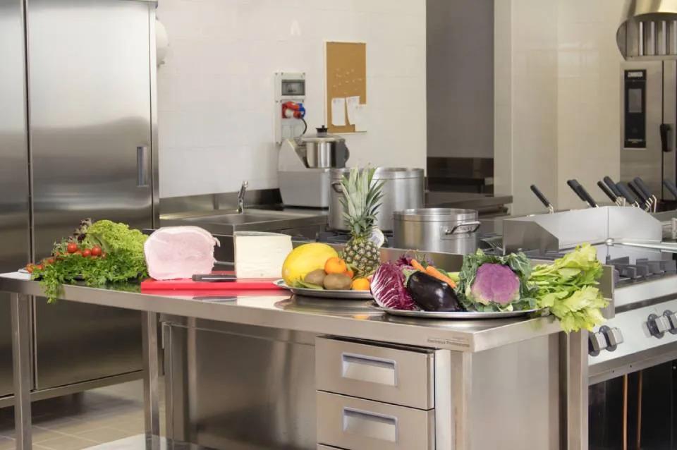La Cucina nella Casa di Riposo Villa Ladaila